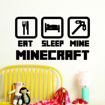 Art design cheap home decoration vinyl popular game wall sticker removable PVC house decor cartoon Minecraft decal in Net bar