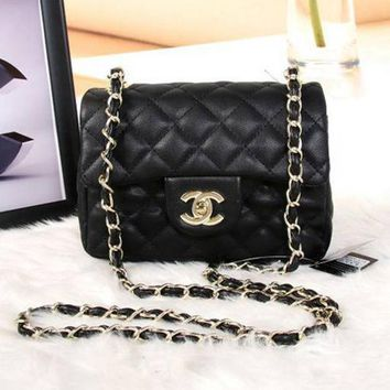 CHANEL New Fashion Women Shopping Leather Metal Chain Crossbody Shoulder Bag
