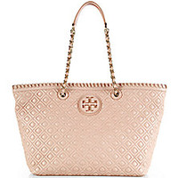 Tory Burch - Marion Quilted Tote - Saks Fifth Avenue Mobile