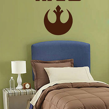 kik2723 Wall Decal Sticker STAR WARS Rebel Alliance Living children's room