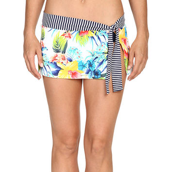 Tommy Bahama Fleur de Lite Skirted Hipster Bikini Bottom