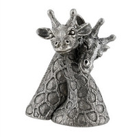 Pewter Giraffes Salt and Pepper Shaker