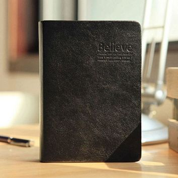 Creative Vintage Bible Faux Leather 2017 Diary NoteBook And Journal Agenda Filofax For Traveler Or Girl School Gift Stationery