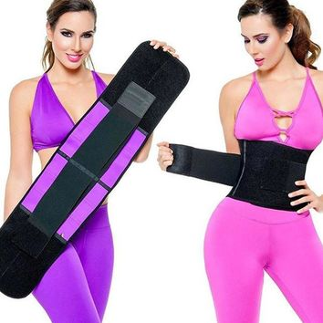 Waist Trainer Fitness Belt
