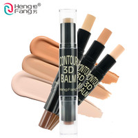 2 in 1 Complexion Highlighter Shimmer Stick Concealer Bronzer 3 Colors