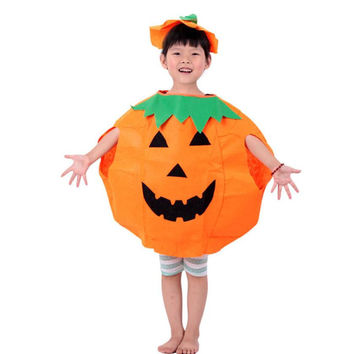 Party Supplies Pumpkin Halloween Costume For Kids Children  Cosplay Costumes Amazing JL 20