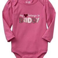 Gap Baby Factory Family Love Bodysuit