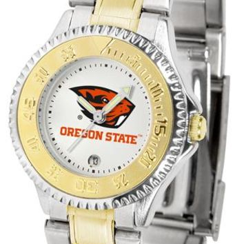 Oregon State Beavers Competitor Ladies Two-Tone Watch