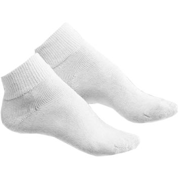 Hanes Womens ComfortBlend Ankle Socks 6-Pack (Shoe Size 8-12)