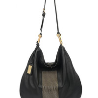 Handbags | New Arrivals  | Ellen Studded Nappa Leather Shoulder Bag | Lord and Taylor