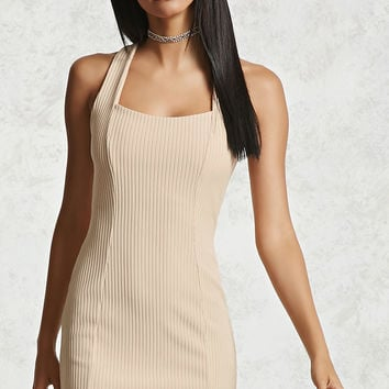 Ribbed Mini Bodycon