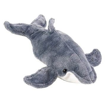 5 Inch Stuffed Humpback Whale Calf Zoo Animal Plush Floppy Animal Kingdom Babies Collection