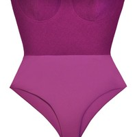 AQ/AQ Purple Bustier Bodysuit
