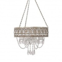 Wake Up Frankie - 5 Tealight Beaded Chandelier