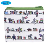 Library Cats Coin Wallet-NEW!