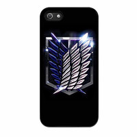 Attack On Titan Scouting Legion Logo iPhone 5s Case