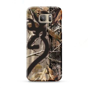 Love Browning Deer Camo Real Tree Couple Samsung Galaxy J7 2015 | J7 2016 | J7 2017 case