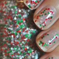 Candy Cane Nail Polish 15ml (.5oz)