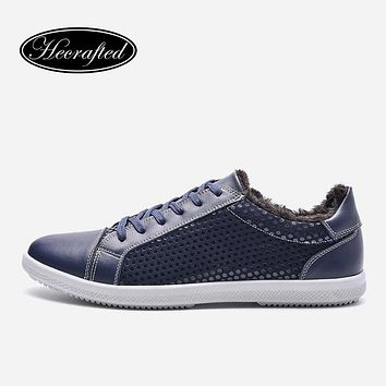 New Arrival Men's Low Cut Warm Casual Sneakers