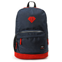 Diamond Supply Co. Diamond Navy & Red Croc School Life Backpack at Zumiez : PDP