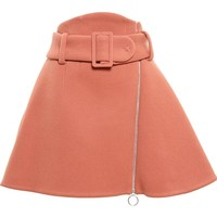 Carven belt A-line skirt