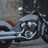 2015 Indian Scout Thunder Black Smoke Motorcycle : Overview