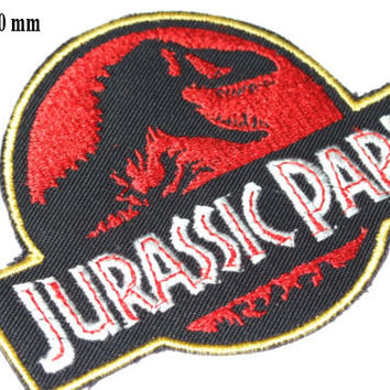 Brand New JURASSIC PARK - Original Movie Prop Themepark Patches