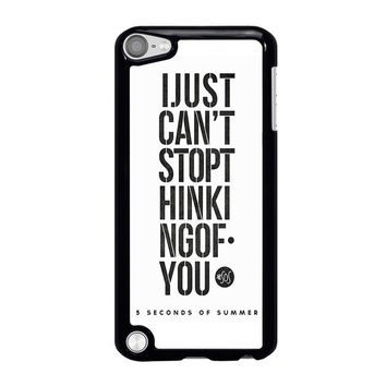 5 SECONDS OF SUMMER 6 5SOS iPod Touch 5 Case Cover