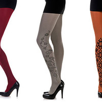 Floral Tights: 5 Creative (and Stylish) Floral Print Tights