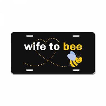 Wife To Bee License Plate