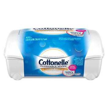 Kleenex® Cottonelle® FreshCare Flushable Cleansing Cloths - 42ct