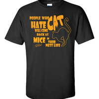 People who hate cat - Unisex Tshirt