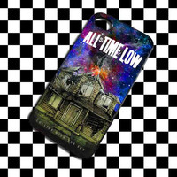 Parody Pierce The Veil Band All Time Low Poster Galaxy iPhone 4, iPhone 4S, iPhone 5, Samsung Galaxy S3, Samsung Galaxy S4 Case