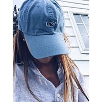 Vineyard Vines Casual Embroidery Sport Cap Sunshade Baseball Hat Cap