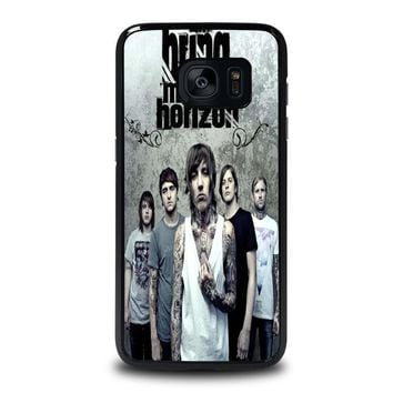 bring me the horizon samsung galaxy s7 edge case cover  number 1