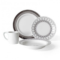 Ribbon 16-Piece Dinner Set