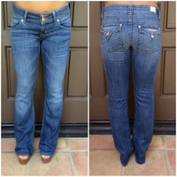 Signature Bootcut Jeans By Hudson