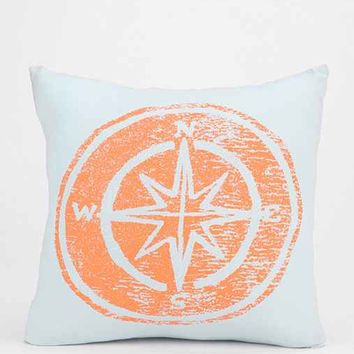 4040 Locust Compass Pillow- Blue One