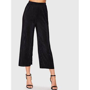 Fine Pleated Trousers