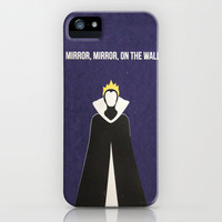 Disney Villain - Evil Queen iPhone & iPod Case by Tessa Simpson