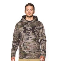 Under Armour Men's Armour Fleece Camo Big Logo Hoodie