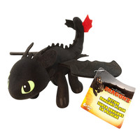 "DreamWorks Dragons: How To Train Your Dragon 2 - 8"" Plush - Toothless"