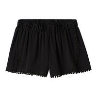 Girls 7-16 Joey B Wrap Front Pom-Pom Shorts