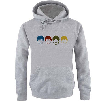the beatles Hoodie Sweatshirt Sweater Shirt Gray and beauty variant color for Unisex size
