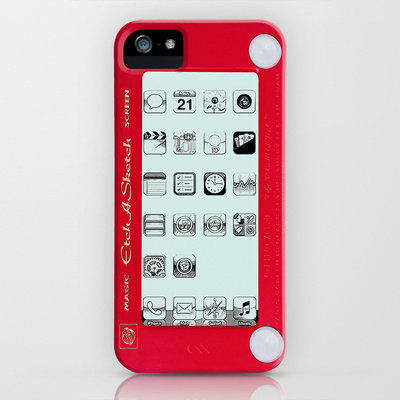 Etch A Sketch Phone Case Iphone