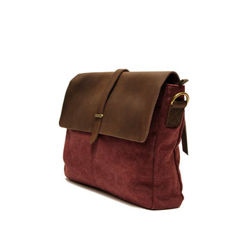 Vaugirard Roll Top Messenger Bag