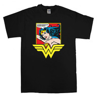 Wonder Women T-shirt unisex adults