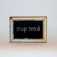 Mini Chalkboard New Orleans Reclaimed Beadboard Frame - CUSTOM - Shop Small, Southern - Cyber Monday Etsy