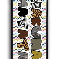 Hakuna Matata On Aztec Tribal Chevron for Iphone 6 Hard Cover Plastic