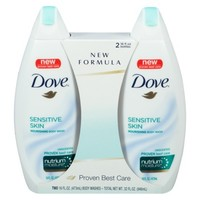 DOVE 2x16OZ Sensitive Skin BW